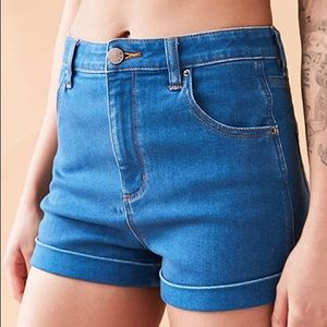 UO High Rise Pin-up Shorts